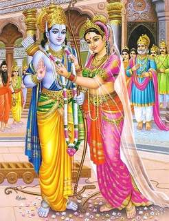 Rama and seetha